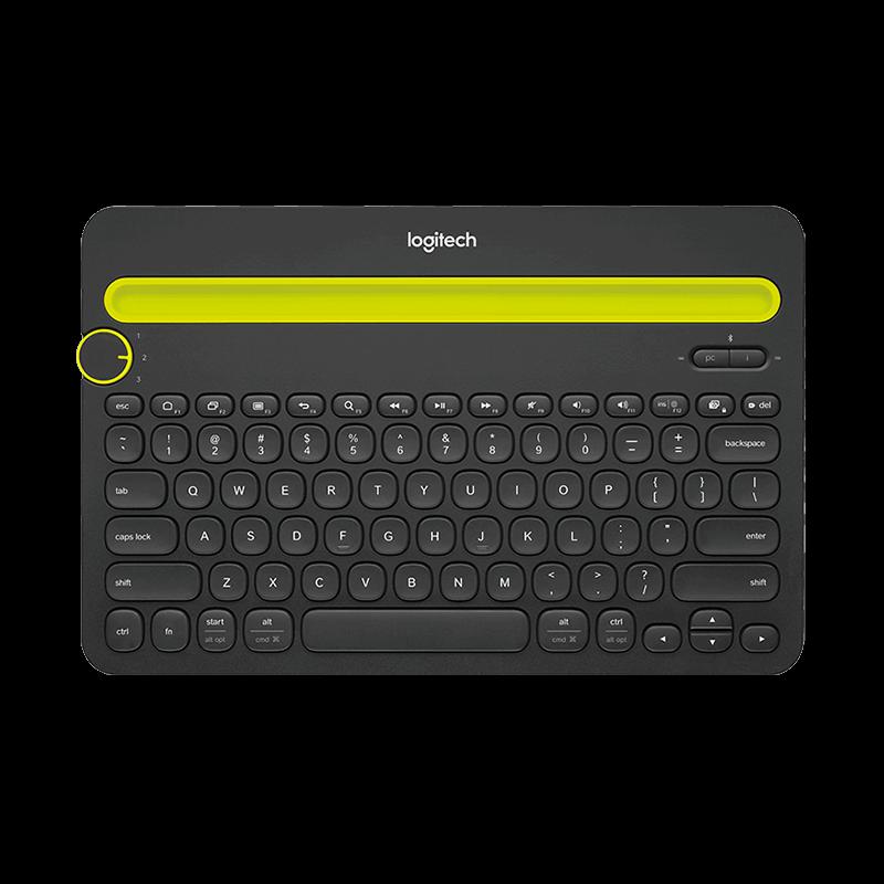 罗技 Crayon 多功能精准数字笔IP10+K480 蓝牙多功能键盘