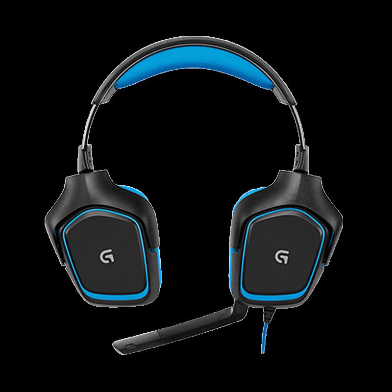 罗技 G430环绕立体声游戏耳机麦克风