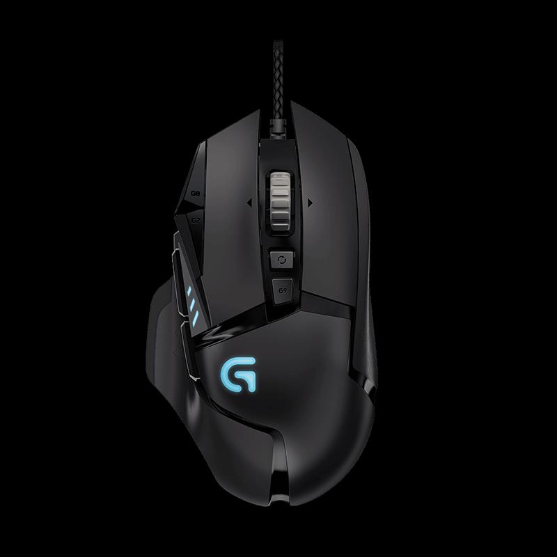 罗技 G502炫光自适应游戏鼠标