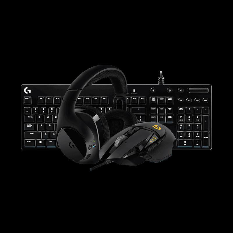 罗技 G502鼠标+G610青轴键盘+G533无线耳机