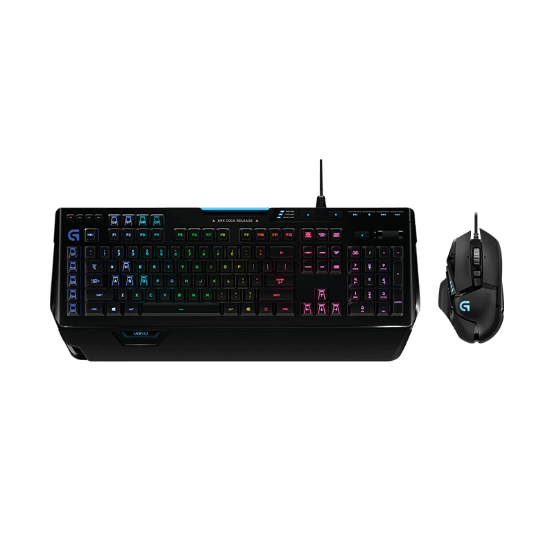 罗技 G502自适应鼠标+G910炫光机械键盘