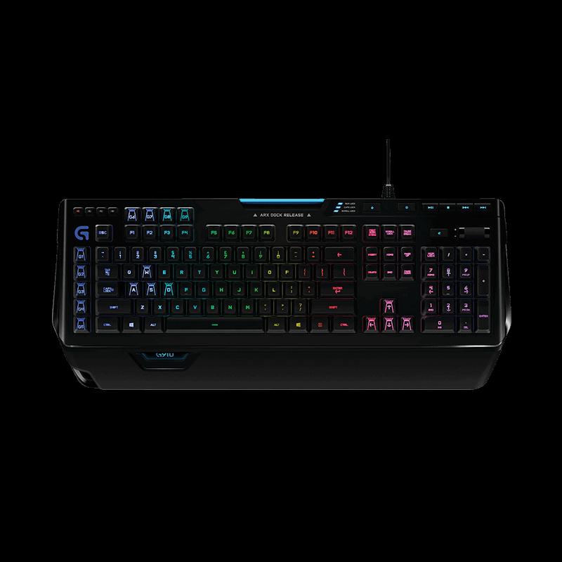 罗技 G502主宰者鼠标+G910炫光机械键盘