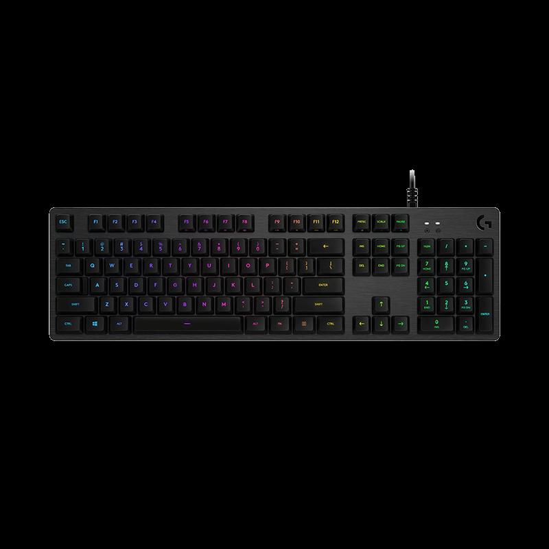 罗技 G512 RGB机械游戏键盘 C轴