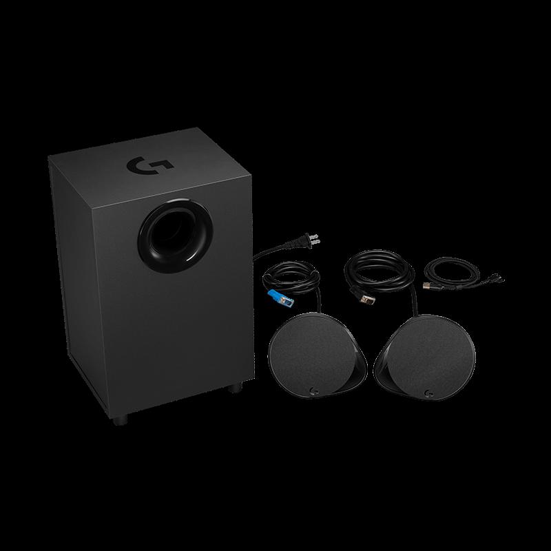 罗技 G560 Lightsync PC游戏音箱