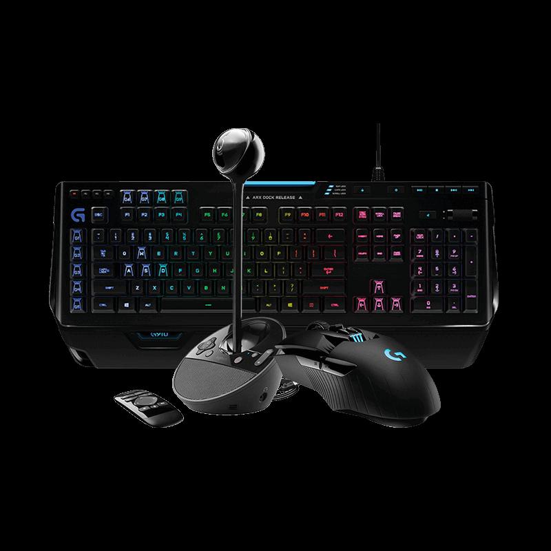 罗技 G903鼠标+G910键盘 +BCC950摄像头