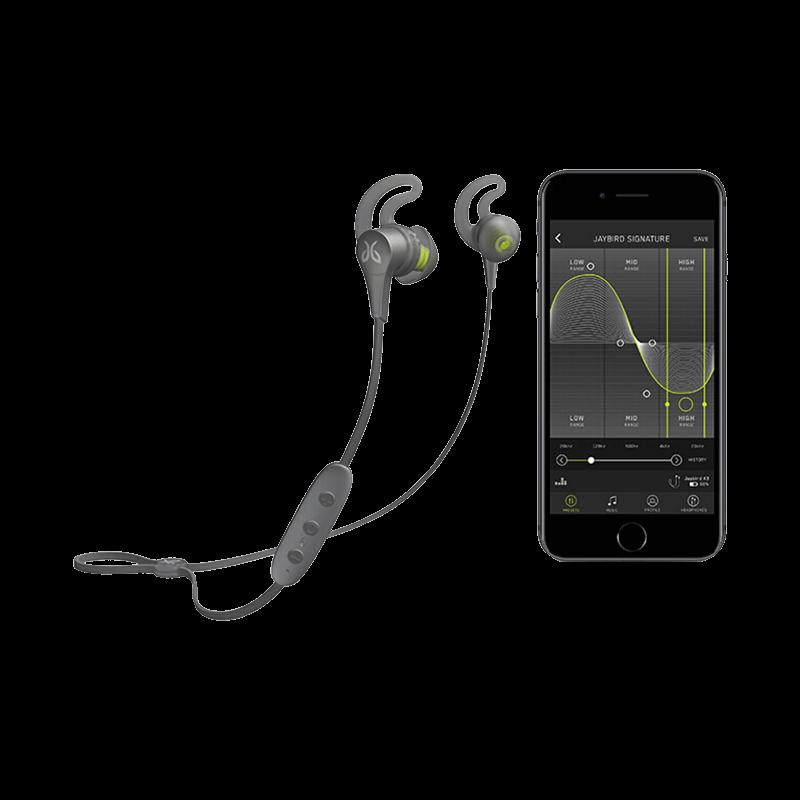 罗技 Jaybird X4无线蓝牙运动耳机 电光黑