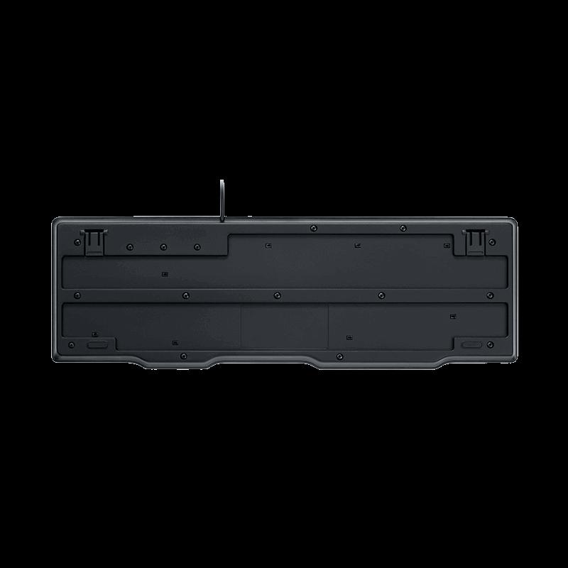罗技 K100有线键盘 黑色