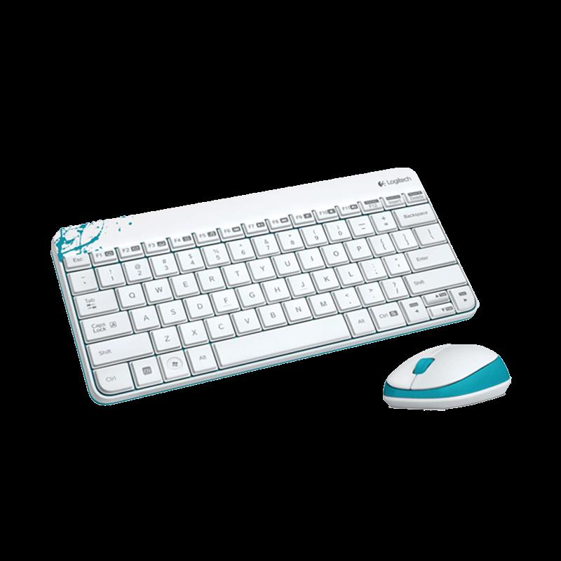 罗技 MK240无线键鼠套装 白色