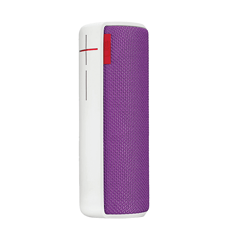 罗技 UE酷乐蓝牙便携音箱 白紫