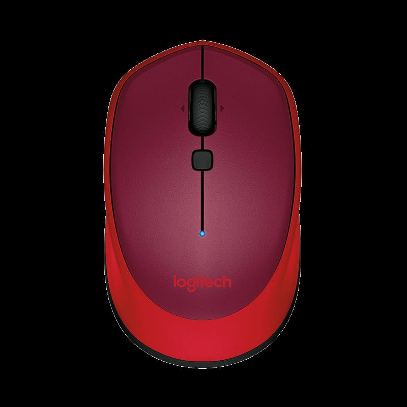 罗技 M336无线鼠标 红色